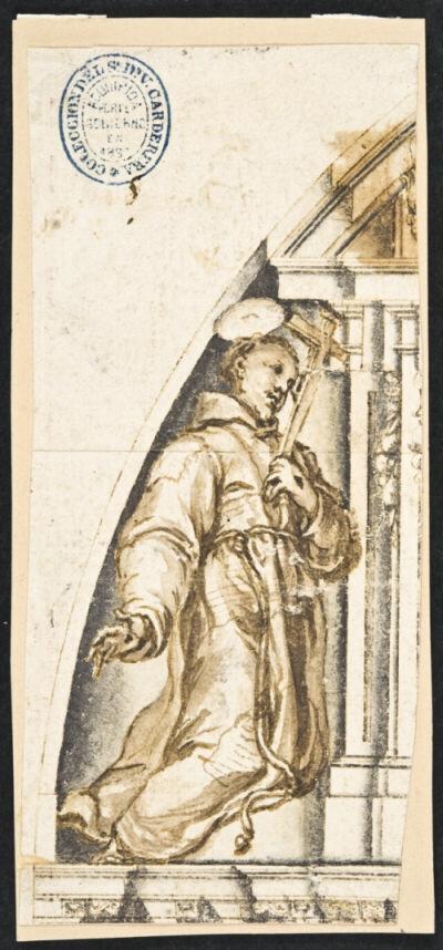 Francisco Rizi. San Francisco. ca. 1654. Biblioteca Nacional de España.
