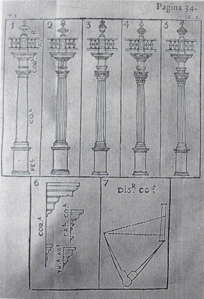 Manuel Losada. órdenes arquitectónicos.