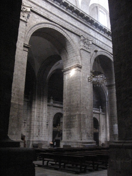 Juan de Herrera. Interior de la Catedral de Valladolid.