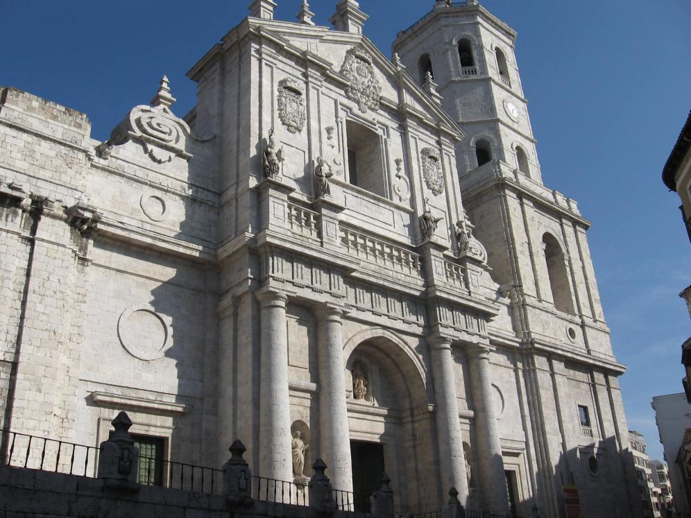 Fachada de la Catedral de Valladolid