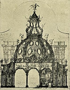 Domingo Yarza (atrib.) Proyecto para la Capilla de la Virgen en la basílica del Pilar. ca. 1725.