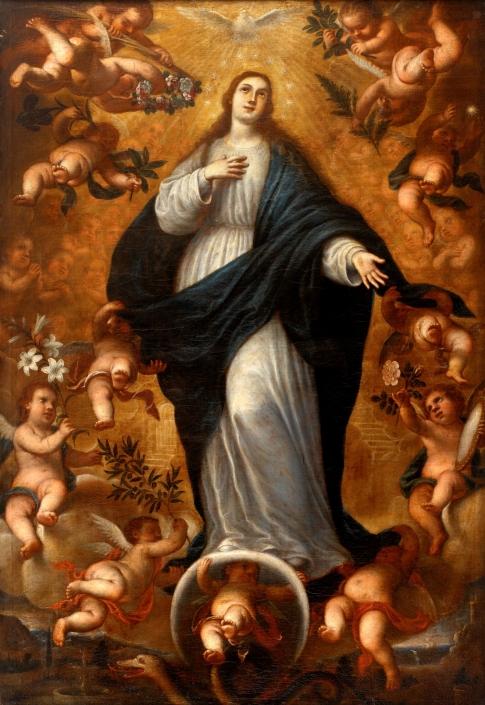 La Purísima. Museo del Prado.