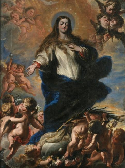 García Hidalgo. Inmaculada. Museo del Prado.