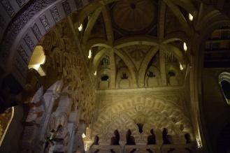 Decoración del lucernario, ahora capilla Villaviciosa.