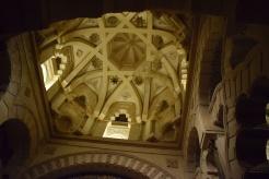 cúpula de la macsura junto al mirhab.