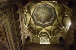 cúpula sobre el mirhab.