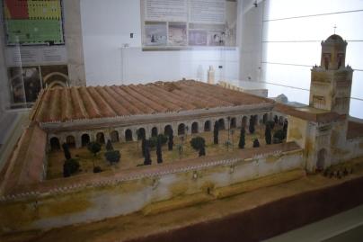 Maqueta del aspecto original de la Mezquita de Córdoba tras la ampliación de Almanzor. Palacio Arzobispal de Córdoba