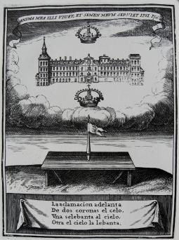 Pedro de Villafranca (grab.) Sebastían de Herrera (Inv.) Jeroglífico para Felipe IV.