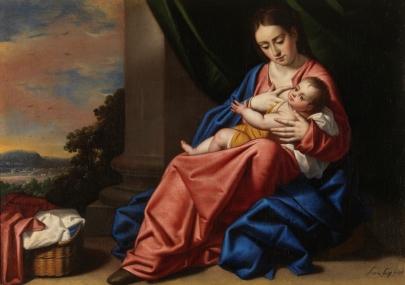 Antonio Arias. Virgen con niño. Museo del Prado