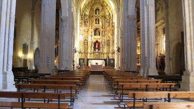 Iglesia de San Dionisio (interior). Jerez de la Frontera. Foto: wikipedia