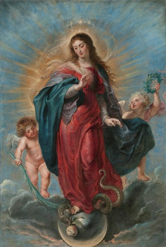 Rubens. Inmculada Concepción. Museo del Prado