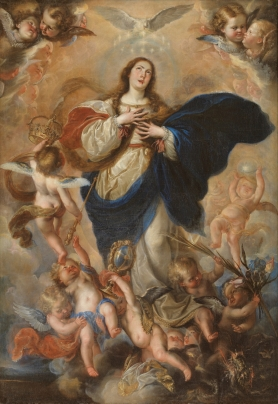 Mateo Cerezo. Inmculada Concepción. Museo del Prado
