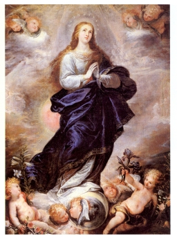 Francisco Rizi. Inmaculada Concepción. Museo del Prado.