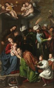 Pedro Núñez del Valle, Adoración de los Magos, ca. 1631. Museo del Prado