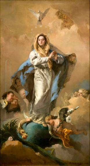 Tiepolo. Inmaculada Concepción. Museo del Prado