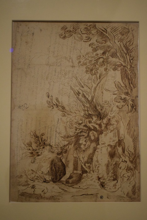 Apuntes de paisaje. Museo de Bellas Artes de Córdoba
