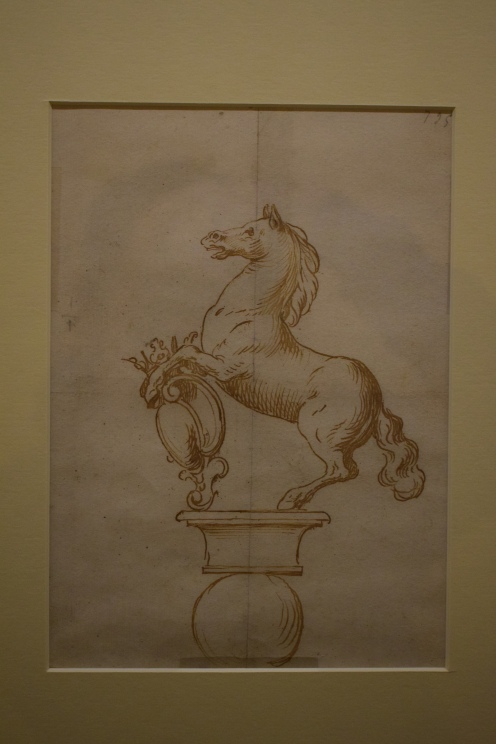 Proyecto para la fuente del Potro. Museo de Bellas Artes de Córdoba.