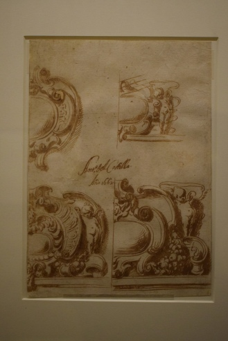 Diseño de cartelas. Museo de Bellas Artes de Córdoba.