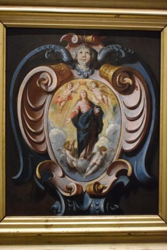 Inmaculada en una cartela. Museo de Bellas Artes de Córdoba