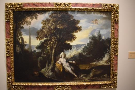 Agar e Ismael. Museo de Bellas Artes de Córdoba