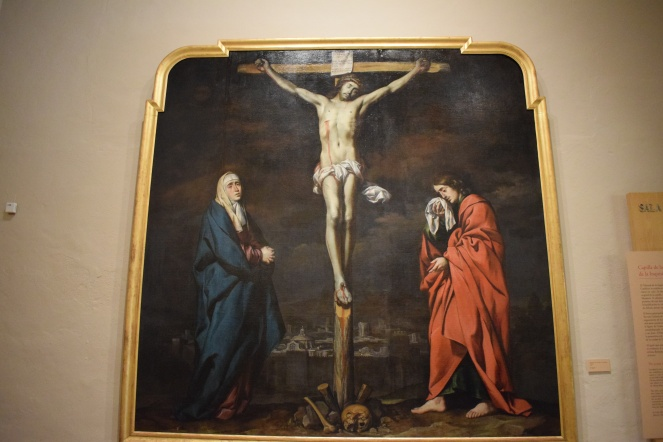 Antonio del Castillo.Calvario. Museo de Bellas Artes