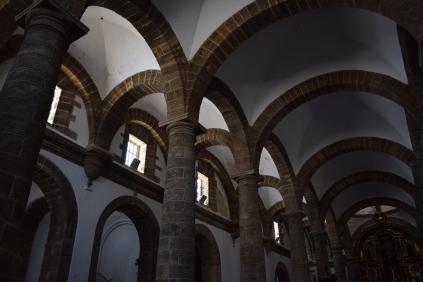 Detalle del sistema de bóvedas esquifadas. Foto: Cipripedia.