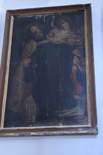 Éxtasis de San Agustín. Anónimo según estampa sobre diseño de Antón van Dyck. Foto: Cipripedia.