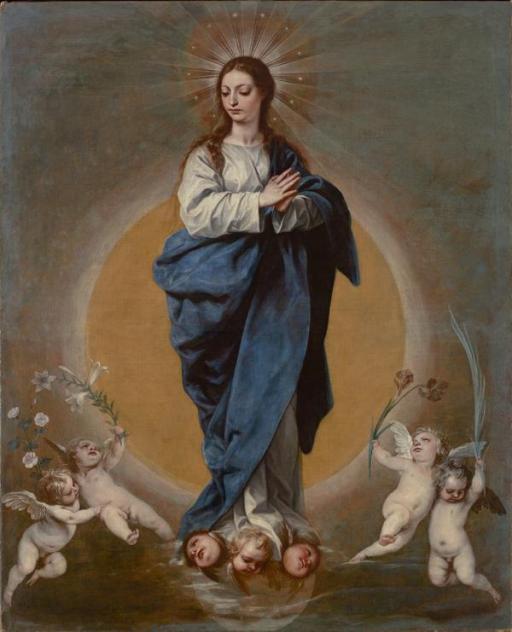 Alonso Cano. Inmaculada Concepción. Colección particular.