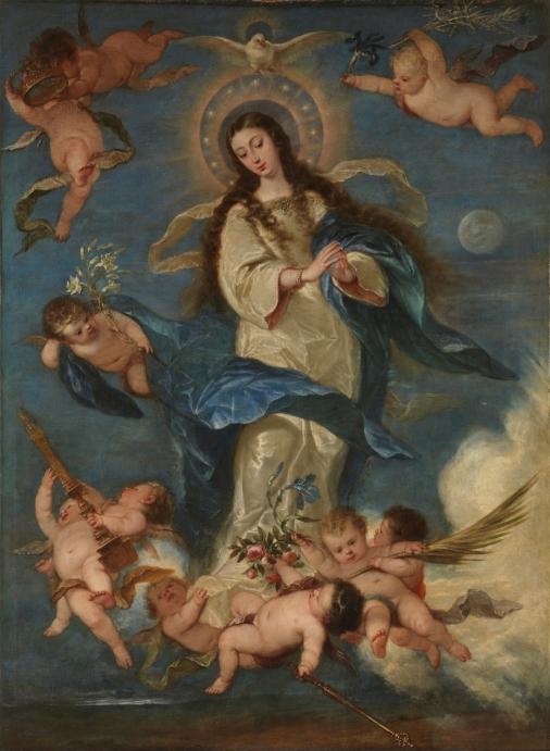 José Antolínez. Inmculada Concepción. Museo del Prado