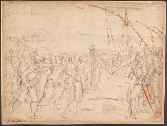 Vicente Carducho. La Expulsión de los moriscos. Museo del Prado