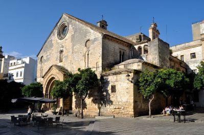 Iglesia de San Dionisio (exterior). Jerez de la Frontera. Foto: wikipedia.