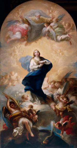 Maella. Inmaculada Concepción. Museo del Prado.