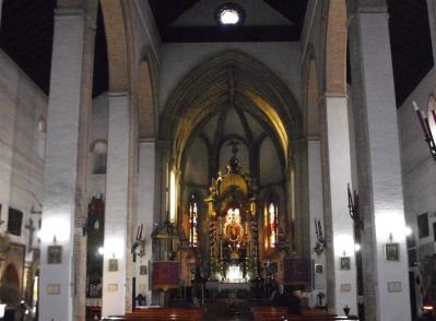 Iglesia de Omnia Sactorum (Interior). Sevilla. Foto: Sevillapedia