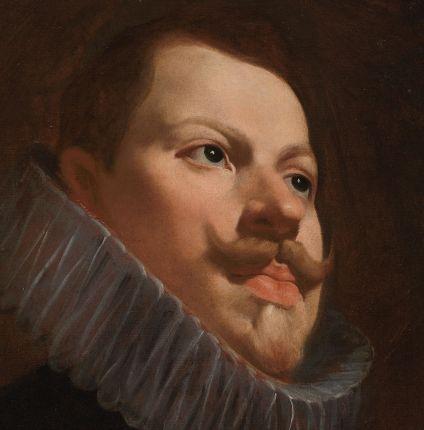 Diego Velázquez (?). Retrato de Felipe III. Museo del Prado