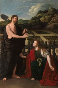 Pedro Núñéz del Valle. Noli me tangere. Museo del Prado.