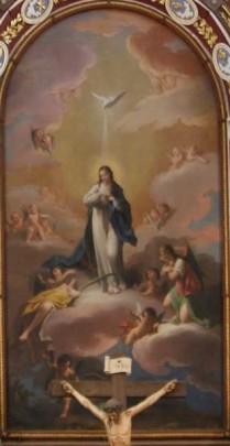 Zacarías González Velázquez. Inmaculada Concepción. Iglesia de Herencia (Ciudad Real)