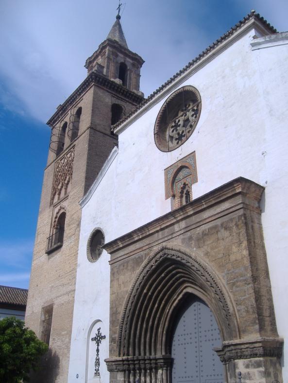 Iglesia de Omnia Sactorum (exterior). Sevilla. foto: Sevillapedia