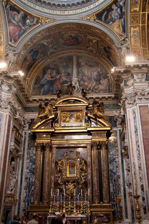 Capilla Paolina en Santa María Maggiore. Foto: wikicommons.