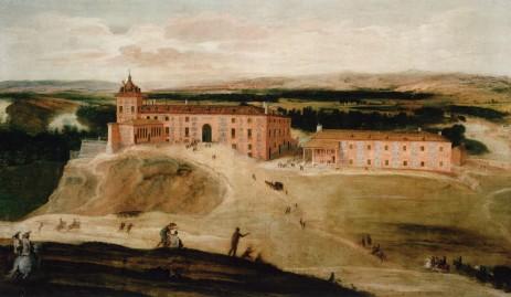 Jusepe Lenardo. Vista del Real Sitio de Aceca. ca. 1630.