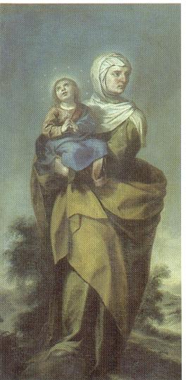 Alonso Cano. Santa Ana.