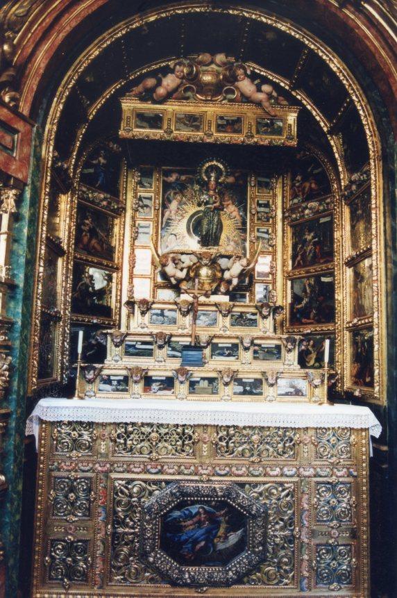 Herrera Barnuevo. Retablo Virgen Guadalupe. Foto: Autor.