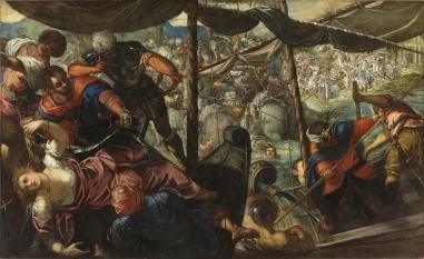 Tintoretto. Rapto de Elena. Foto: museo del Prado.