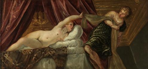 Tintoretto. José y la mujer de Putifar. Foto: Museo del Prado