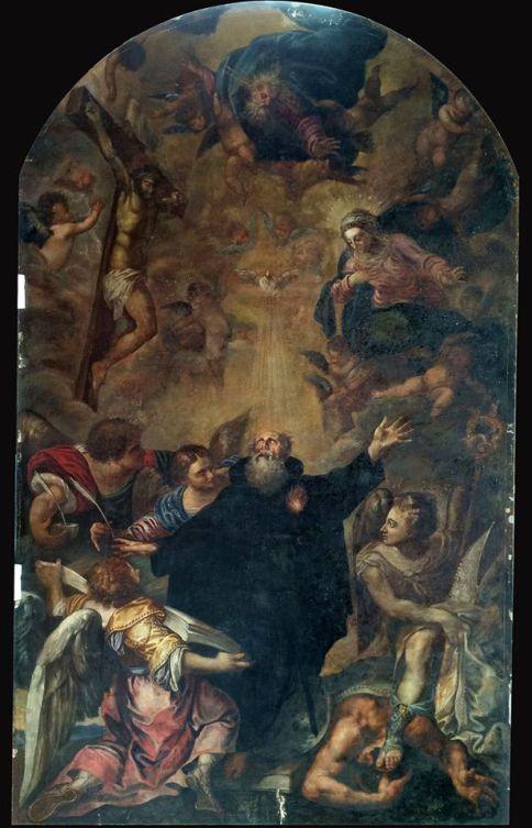 Sebastián de Herrera Barnuevo. Apoteosis de San Agustín. Foto: IPCE.