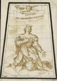 Sebastián de Herrera Barnuevo. Judith. Dibujo. Foto: Biblioteca Nacional