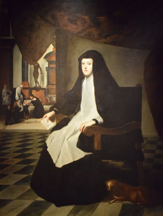 Juan Bautista Martínez del Mazo. Retrato de Mariana de Austria como viuda. Museo Casa del Greco. Toledo. Foto: Autor.