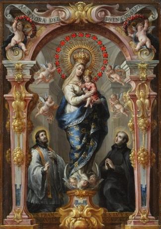 Bartolomé Pérez. Nuestra Señora del Buen Cosnsejo. Museo Cleveland. Foto: web museo.