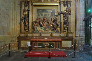 Juan de Juni. Capilla del Santo Entierro. Catedral de Segovia. Foto: wiki commons