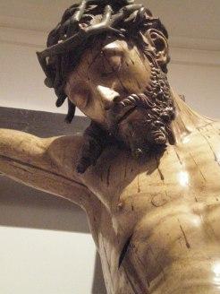 Sebastián Ducete. Cristo crucificado (detalle). Museo Frederic Marès. Barcelona. Foto: Miguel Hernández Caballero.