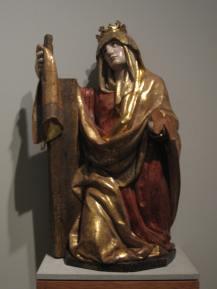 Juan de Juni. Santa Elena. Museo Nacional de Escultura de Valladolid.